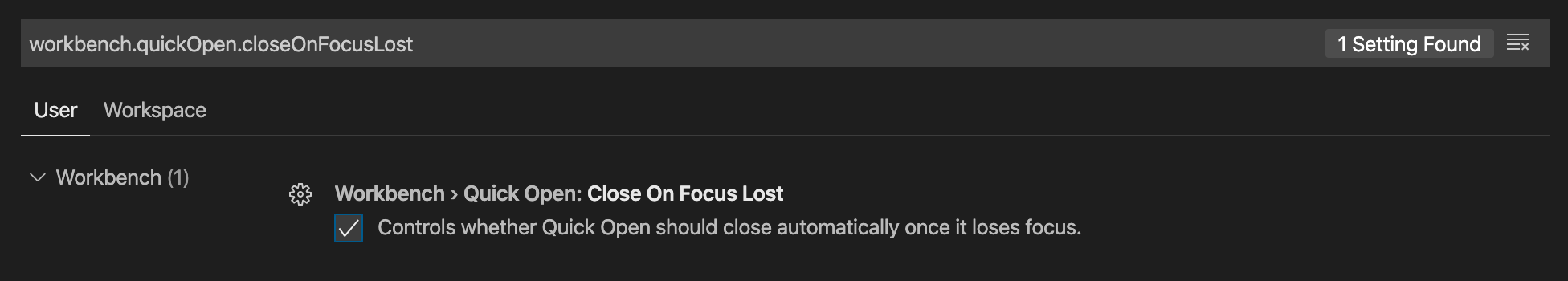 Uncheck this box to keep the command palette open when it loses focus